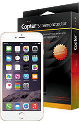 Copter Screenprotector iPhone 6 / 6s