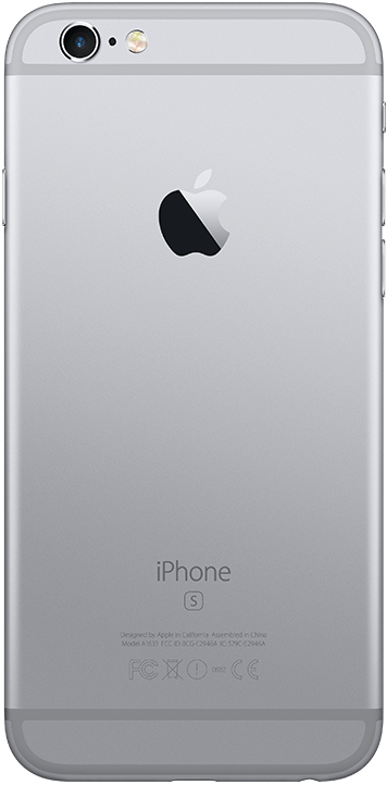 Apple iPhone 6S 128GB, stellargrå