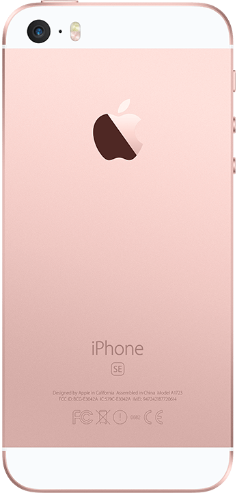 Apple iPhone SE 128GB, rosegull