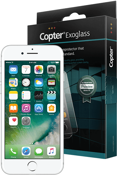 Copter Exoglass iPhone 6, 6S og  7