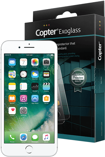 Copter Exoglass iPhone 7 plus