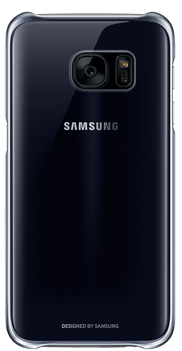 Galaxy S7 Clear Cover, Black