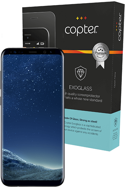 Copter Exoglass Curved Samsung Galaxy S8