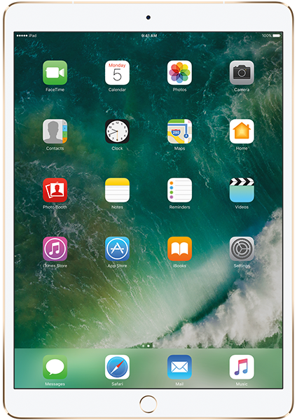 Apple iPad Pro 10,5 - 64GB, gull