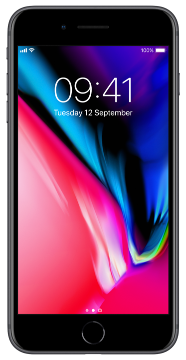 Apple iPhone 8 Plus 64GB, stellargrå