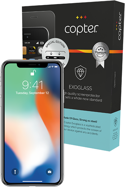 Copter Exoglass iPhone X