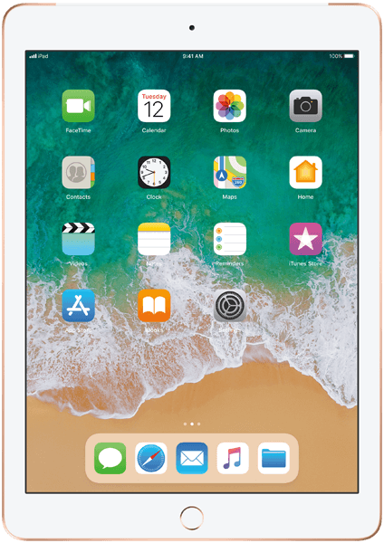 Apple iPad 9.7 32GB, gull