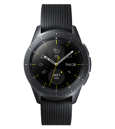 Samsung Galaxy Watch, 42mm, svart