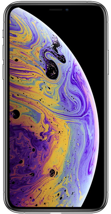 Apple iPhone XS 64GB, sølv