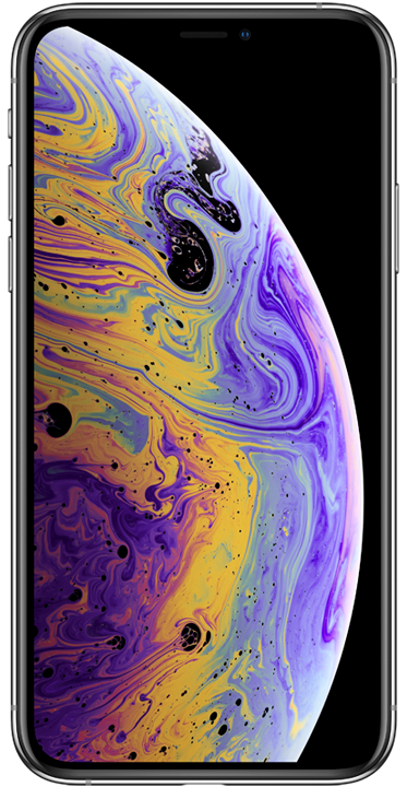 Apple iPhone XS Max 64GB, sølv