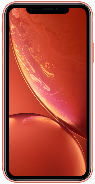 Apple iPhone XR 64GB, korall
