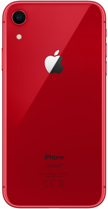 Apple iPhone XR 64GB, rød