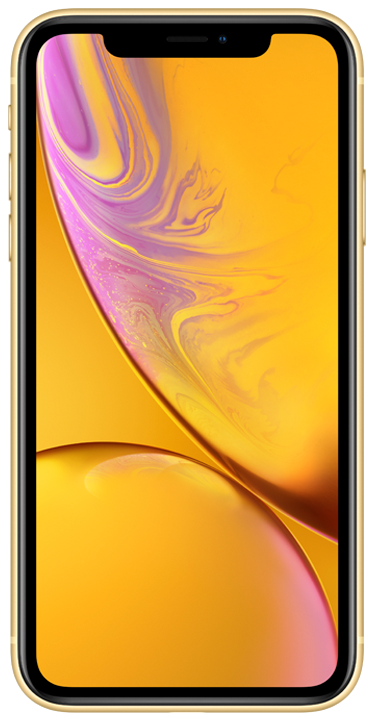 Apple iPhone XR 64GB, gul