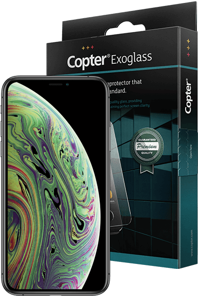 Copter Exoglass iPhone X, XS