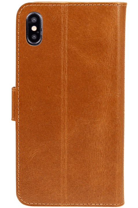 dbramante wallet iPhone XR, brun