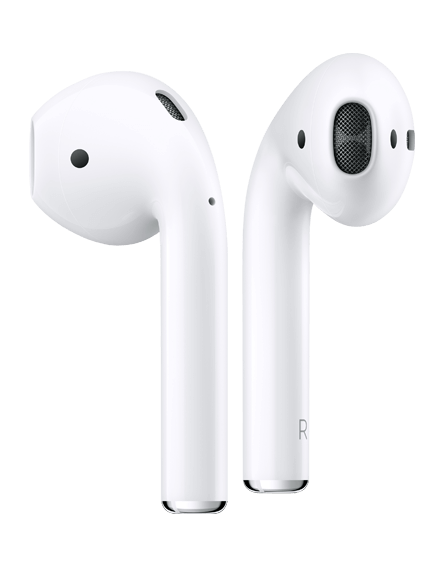 Apple AirPods med ladeetui